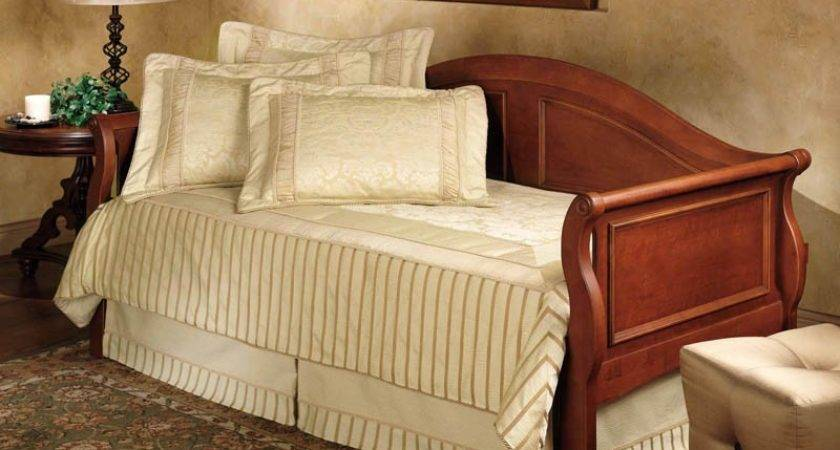 Hillsdale Bedford Day Bed Roll Out Trundle Mattress Frame