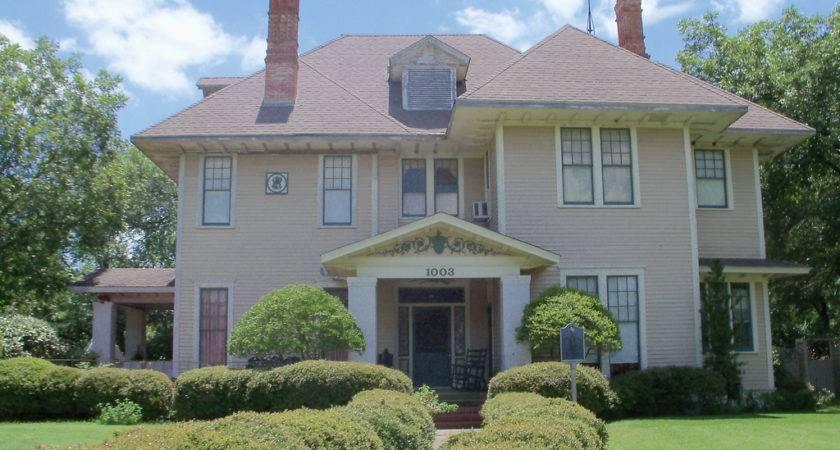 Historic Home Corsicana Texas Historical Marker