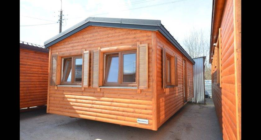 Holiday Mobile Home Log House Wooden