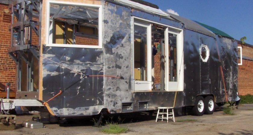Home Built Travel Trailer Construction Decorating Ideas