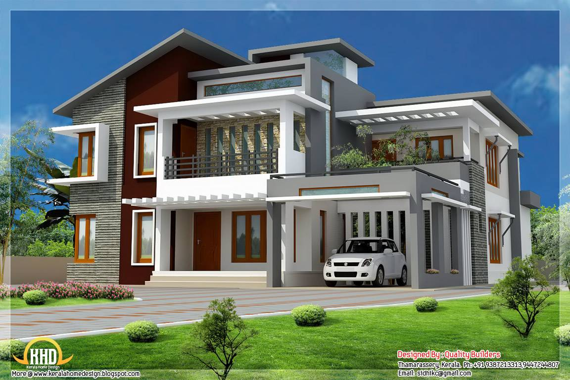 Home Design Contemporary Modern Style Architecture House Plans