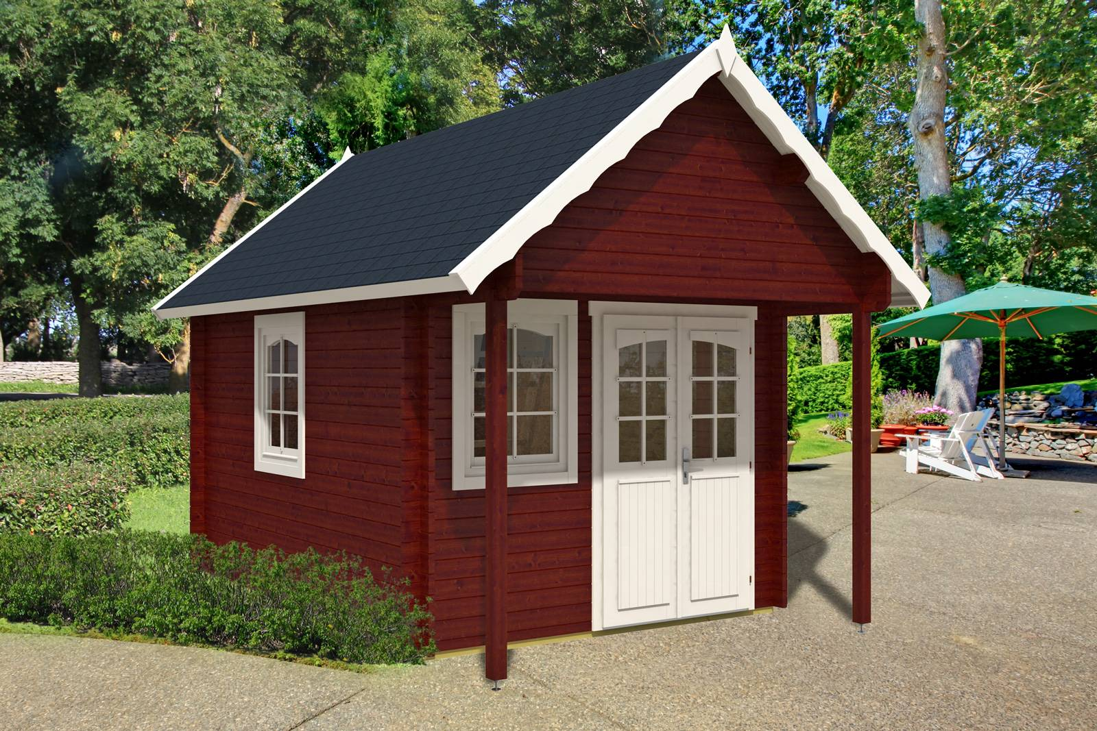 Home Ezlog Kits Small Cabins Bunkie Sqft