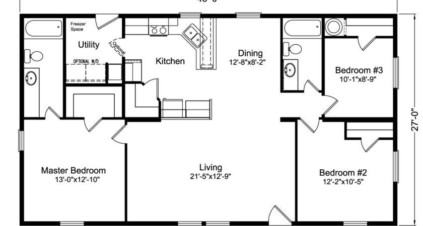 Home Floor Plan Manufactured Modular Plans