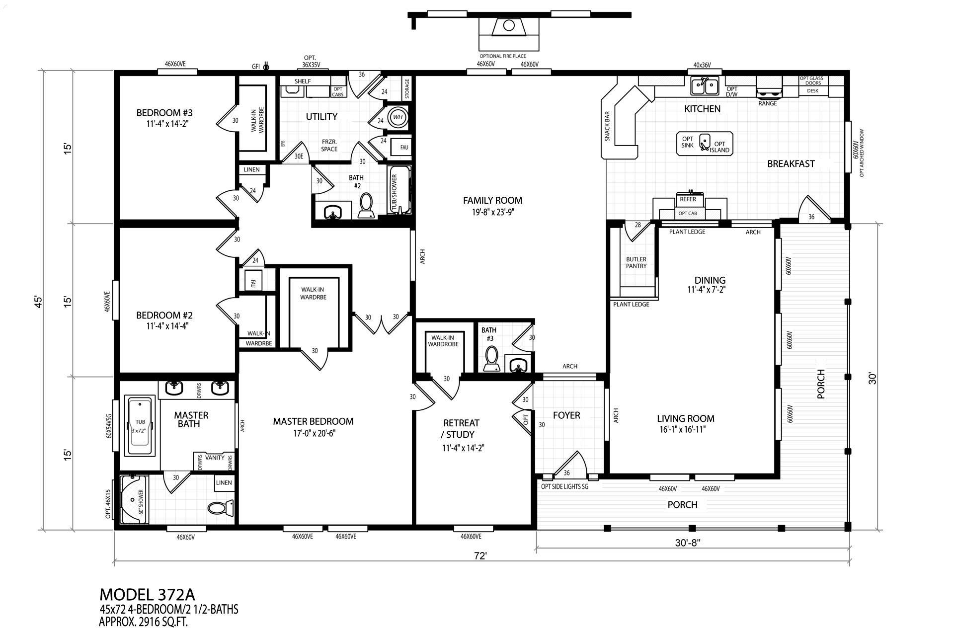 Single Wide Mobile Home Floor Plans besides How Much Will My Modular Home Cost together with 3d Double Wide Floor Plans additionally CP463 cape cod 4933 together with Professional Building Systems Northh ton III. on modular home factory