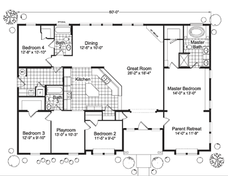 Home Floor Plans Lovely Modular House