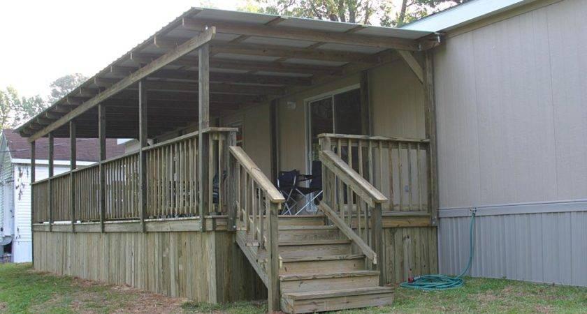 Home Ideas Mobile Porch Plans
