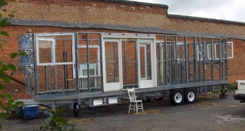 Home Made Solar Powered Travel Trailer Ground Building