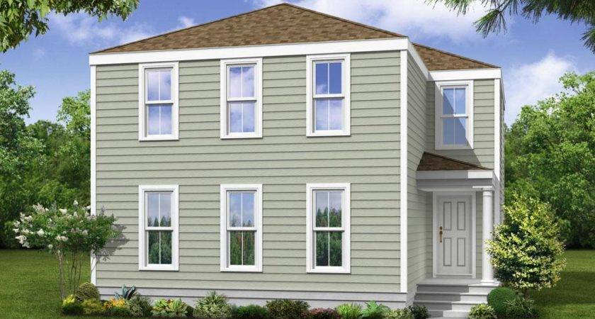 Home Neo Traditional New Town Plan Type Two Story Beds Baths