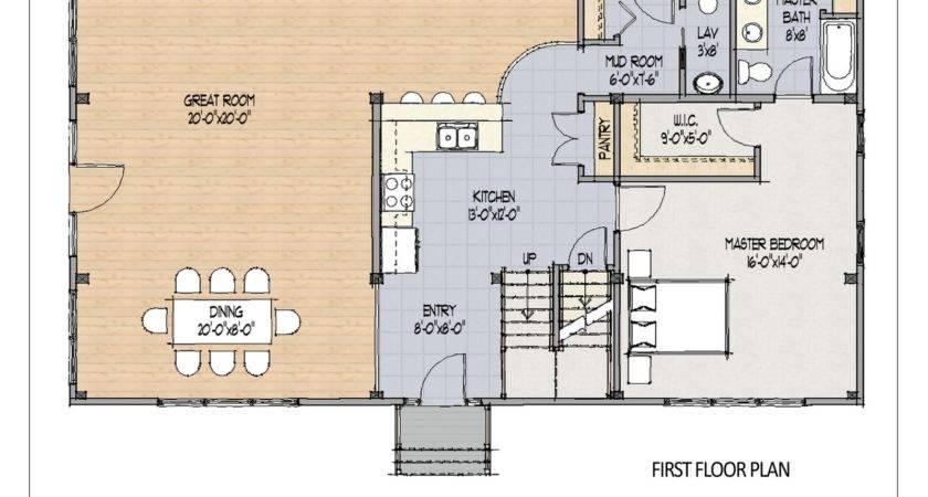 Home Plans Open Floor