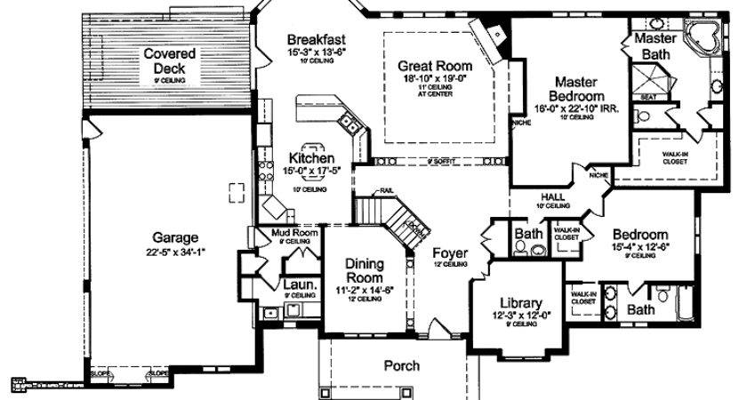 Home Plans Two Master Suites Homes Floor