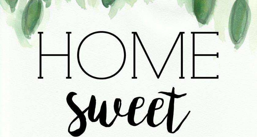 Home Sweet Printable Miss Homebody
