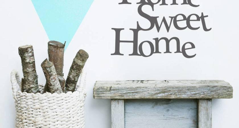 Home Sweet Vinyl Wall Sticker Oakdene Designs