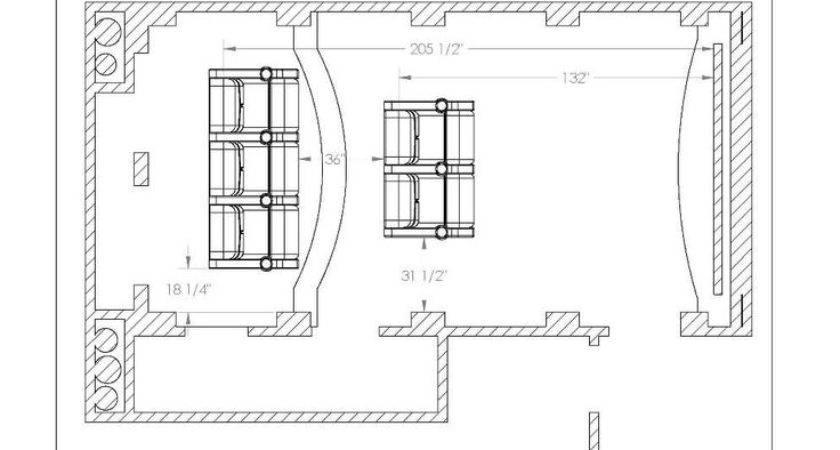 Home Theater Floor Plan Ideas