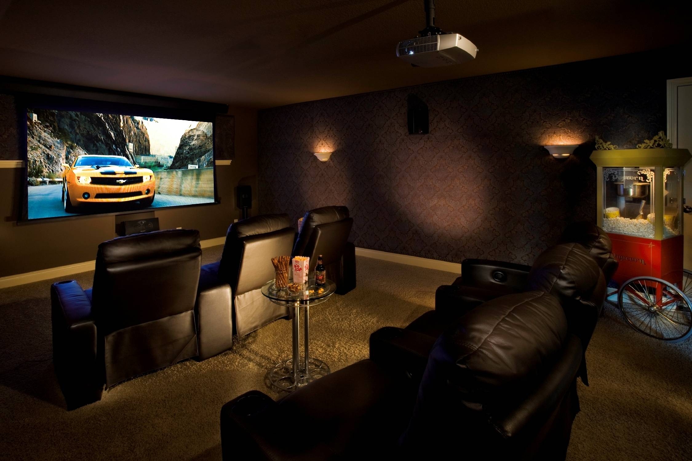 Home Theatre Room Design Ideas Classy Seating