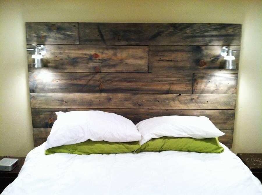 Homemade Wood Headboard Plan Ideas Diy Headboards Designs