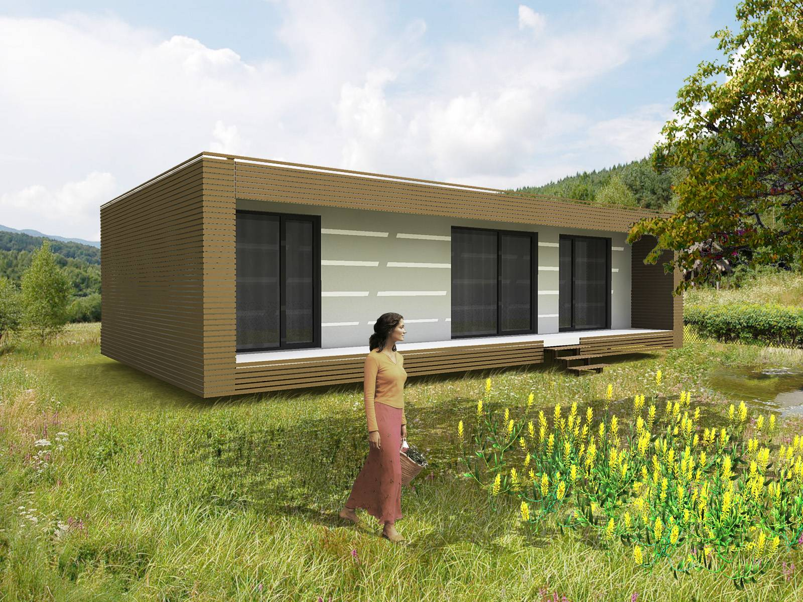 Homes Cost Prefabricated Cabins Prefab