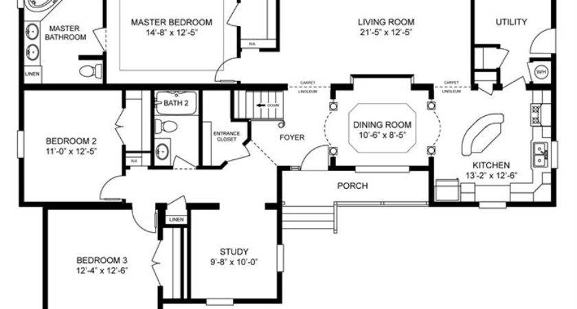 Homes Home Floor Plan Manufactured Modular Mobile