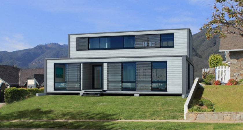 Homes Latest Affordable Green Prefab Design Connect