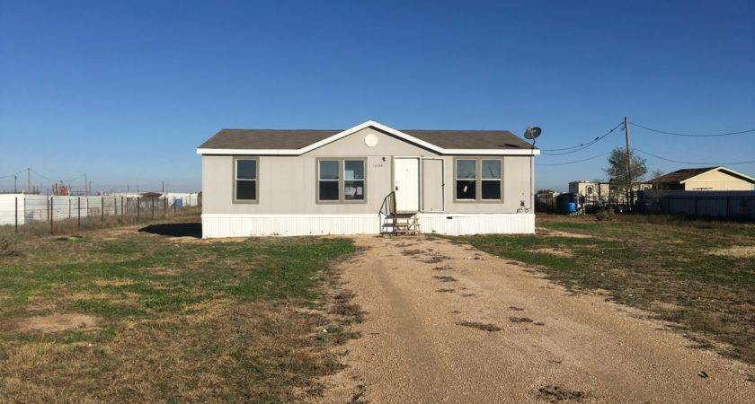 Homes Texas Double Wide Mobile Home Sale Odessa