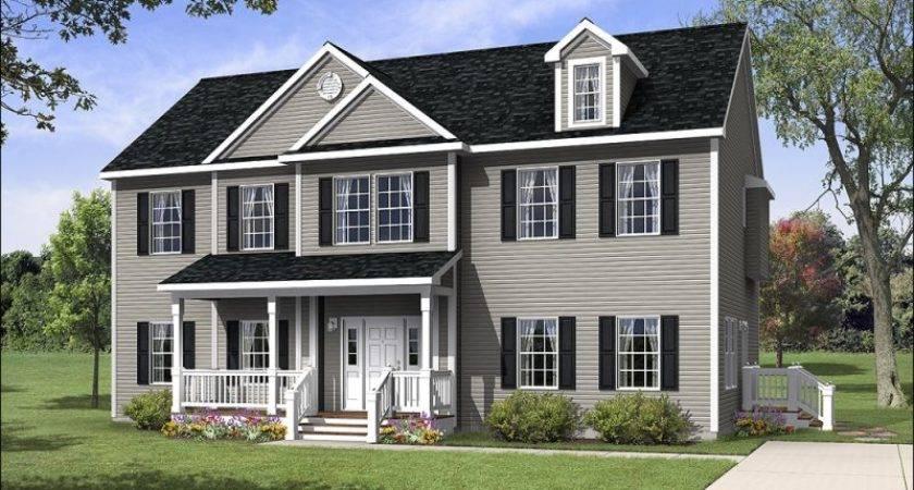 Homes Titan Sectional Modular Plans Colonial