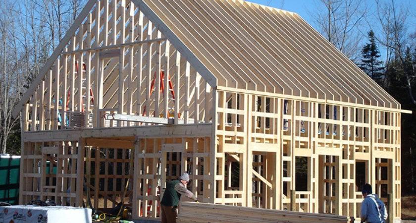 Horse Barn West Paris Maine Stick Built Homes
