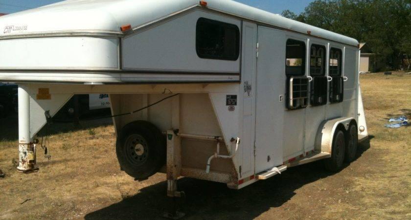 Horse Slant Trailer Cowboy Sale
