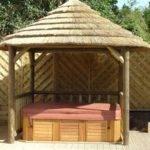 Hot Tub Gazebos Gazebo Has Hut Style