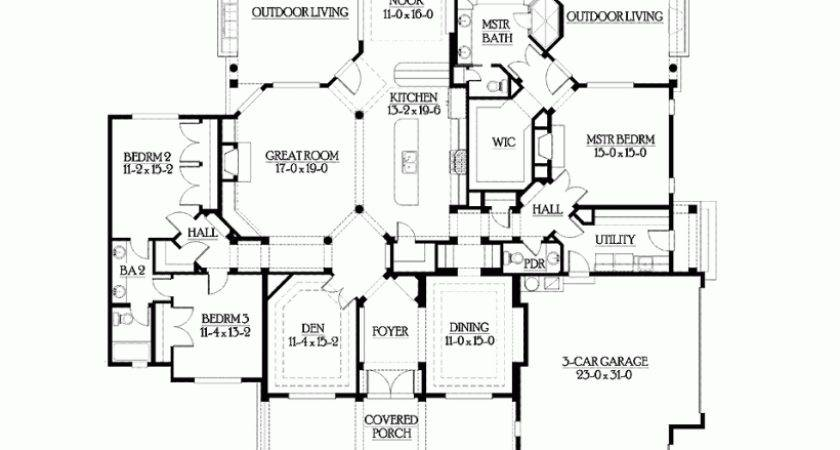 House Plan Easy Living Hampton Shingle Style Home