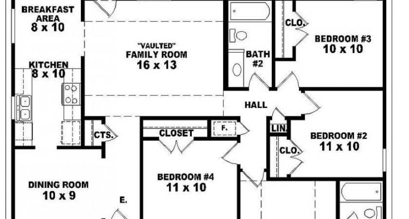 House Plans Bedrooms Marceladick