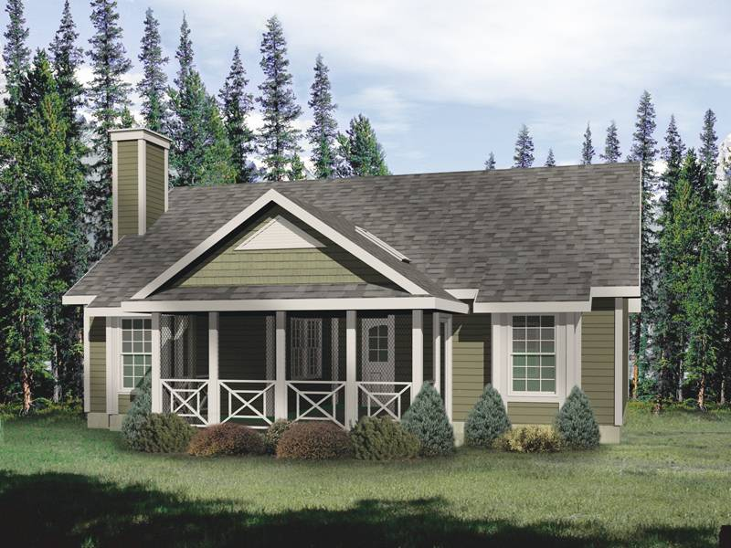 House Plans Country Ranch Shingle