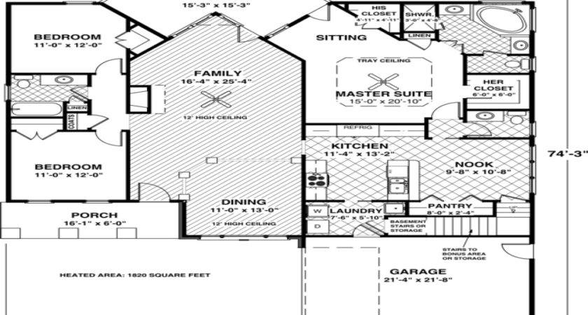 Idea Small House Floor Plans Under Best