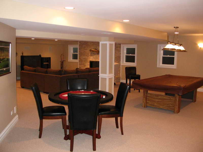 Ideas Finished Basement Custom Home Decor Design