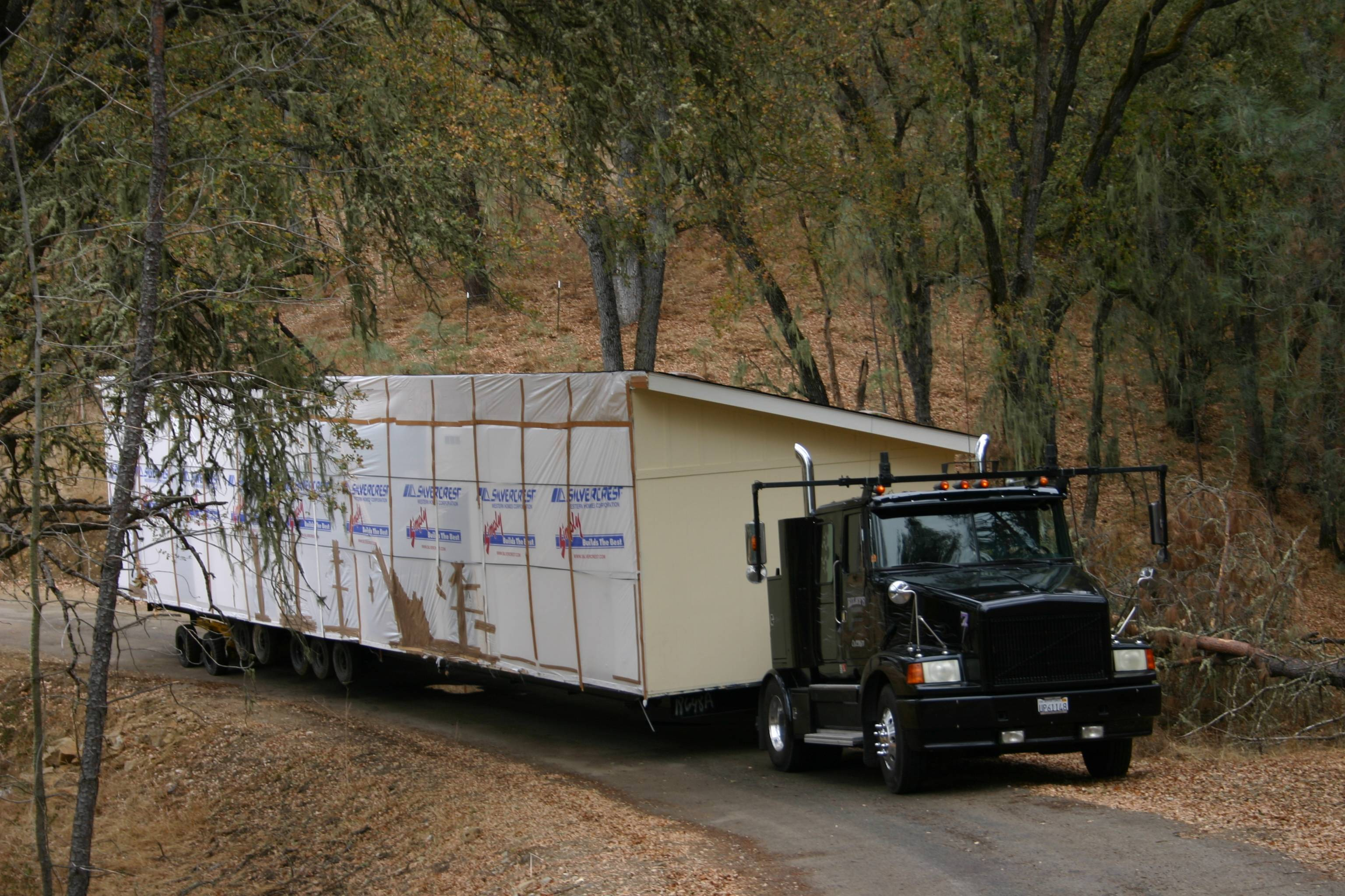 Ideas Modular Home Delivery Truck Homes Sale