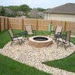 Ideas Patio Simple Iron Chairs Seating Outdoor