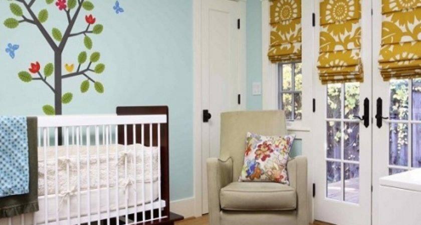 Ideas Window Treatment Baby Nursery Curtains