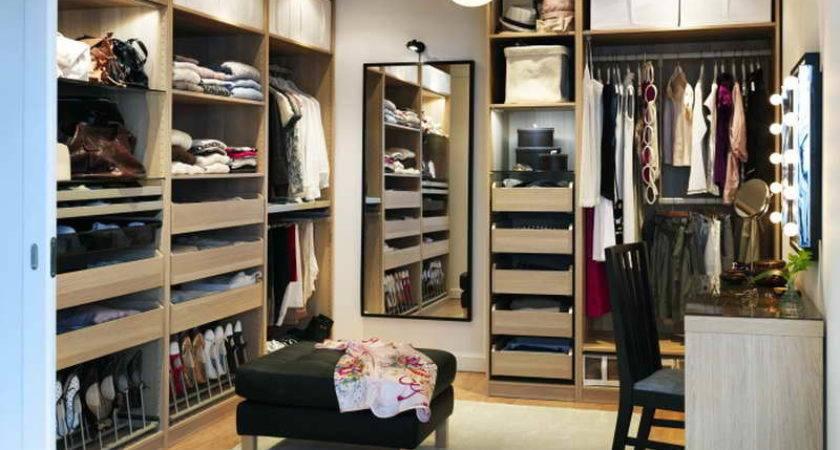 Ikea Walk Closet Designs Bright White Theme Simple