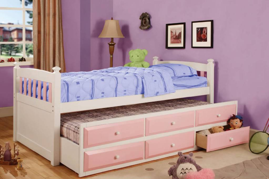 Incorporating Kids Trundle Beds Room Design