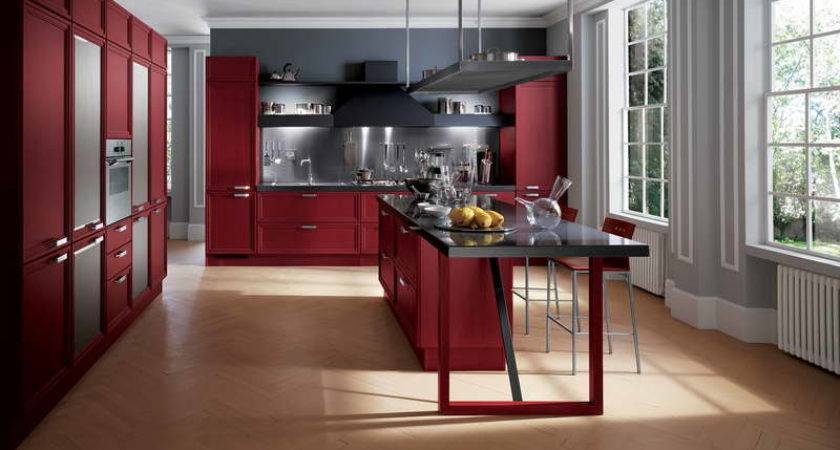 Innovative Kitchen Storage Color Red Your Dream Home