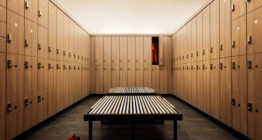 Inside Equinox Hollywood Luxury Locker Rooms