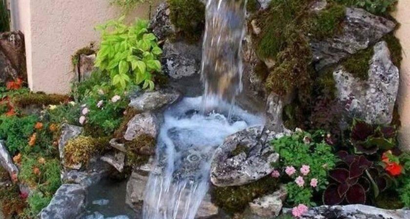 Inspiring Garden Water Features Planted Well