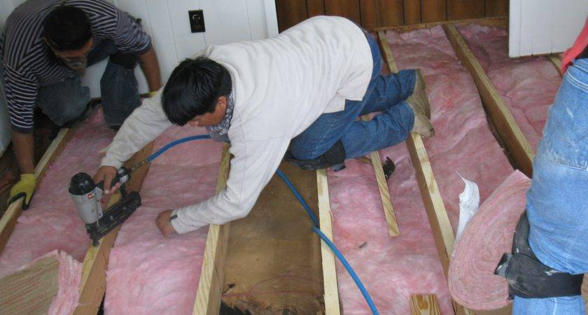 Insulation Replacement Floor
