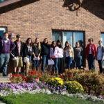 Interior Design Students Tour Homes Iowa Mennonite School Home
