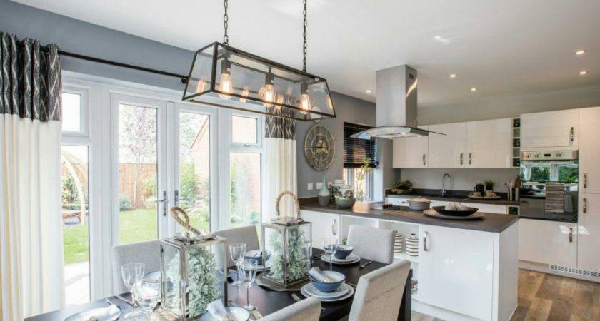 Interior Designed Showhome Modern Open Plan Kitchen