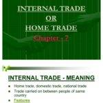 Internal Trade Home Good Economics Wholesale
