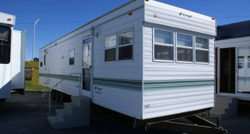 Inventory Sale Park Trailers Kropf Log Cabin Forest River
