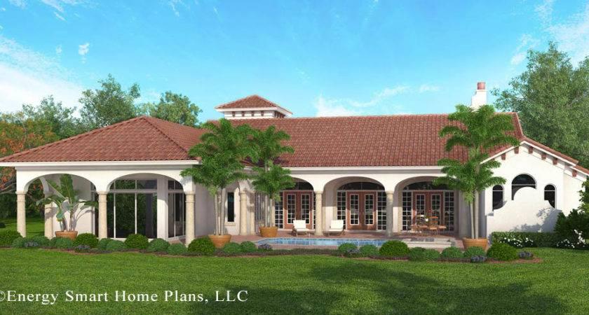 Italian Villa Ocala Florida Energy Smart Home Plans