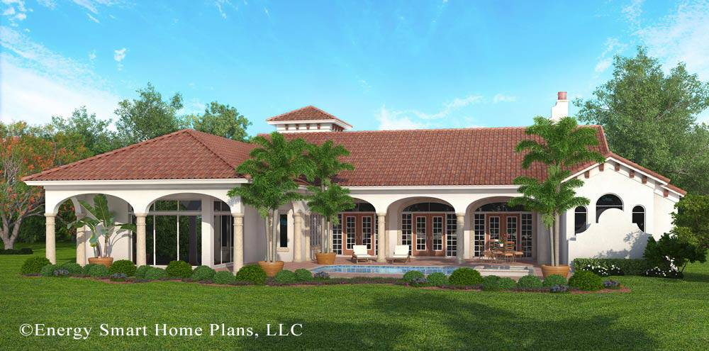 Italian Villa Ocala Florida Energy Smart Home Plans