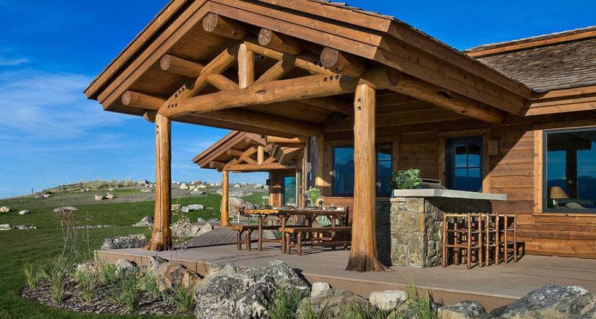 Jackson Hole Log Homes Teton Heritage Builders