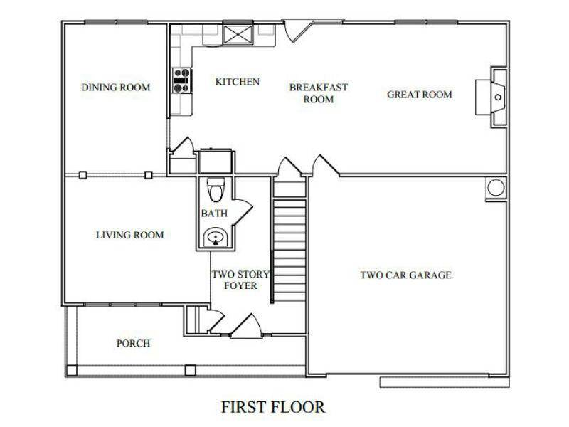 Jefferson Floor Plans New Homes Cumming