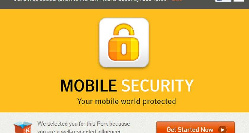 Just Got Norton Mobile Security Worth One Year